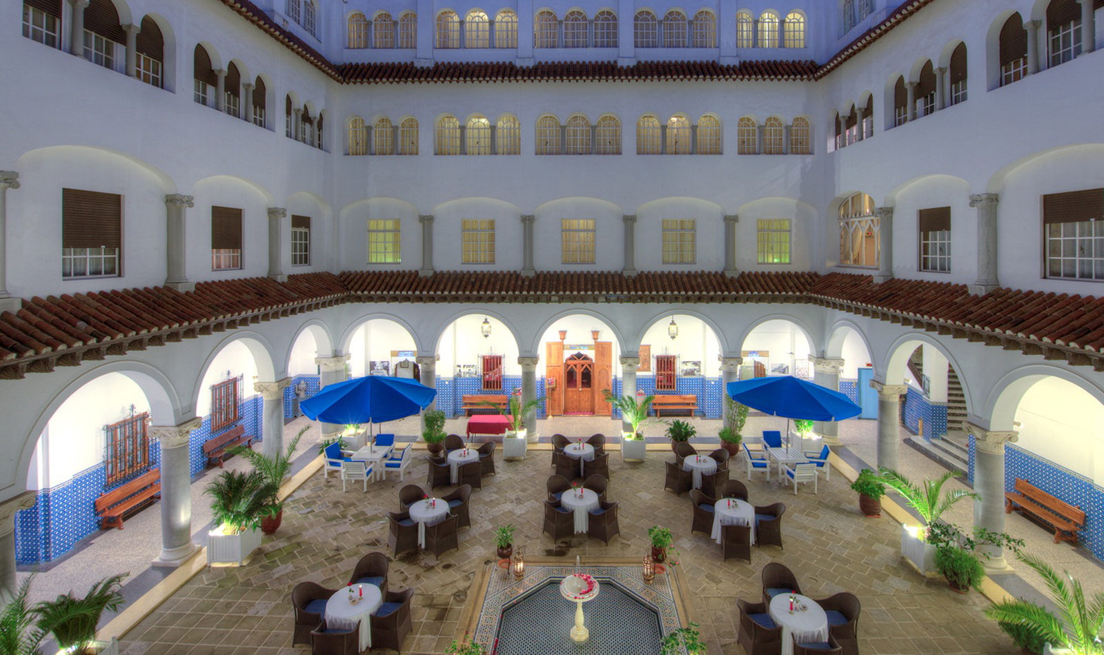 Minzah Hotel Tangier Hotels In Tangiers Morocco
